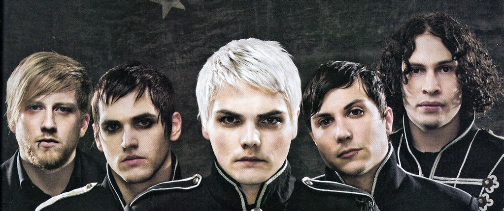 MY CHEMICAL ROMANCE the emo band