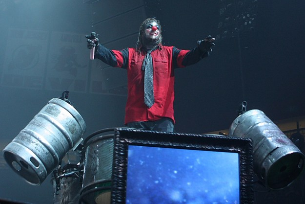 Slipknot's Clown (M. Shawn Crahan) 2012