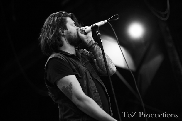 Taking back sunday camden warped adam