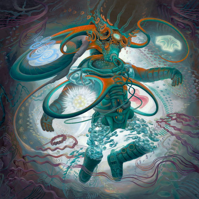 Coheed and Cambria - The Afterman artwork