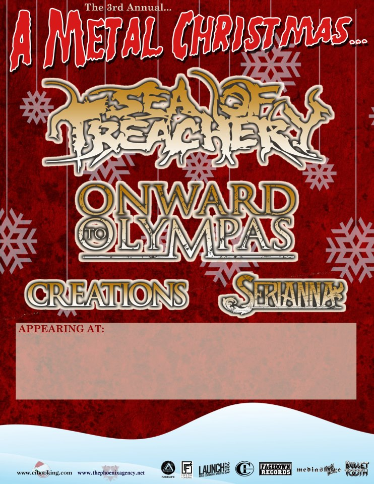 A Metal Christmas Onward to Olympas Creations Serianna