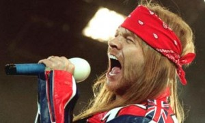 Axl Rose GnR Guns n Roses