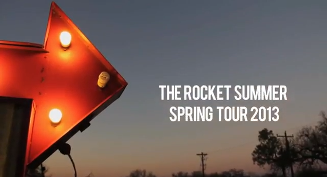the rocket summer spring tour