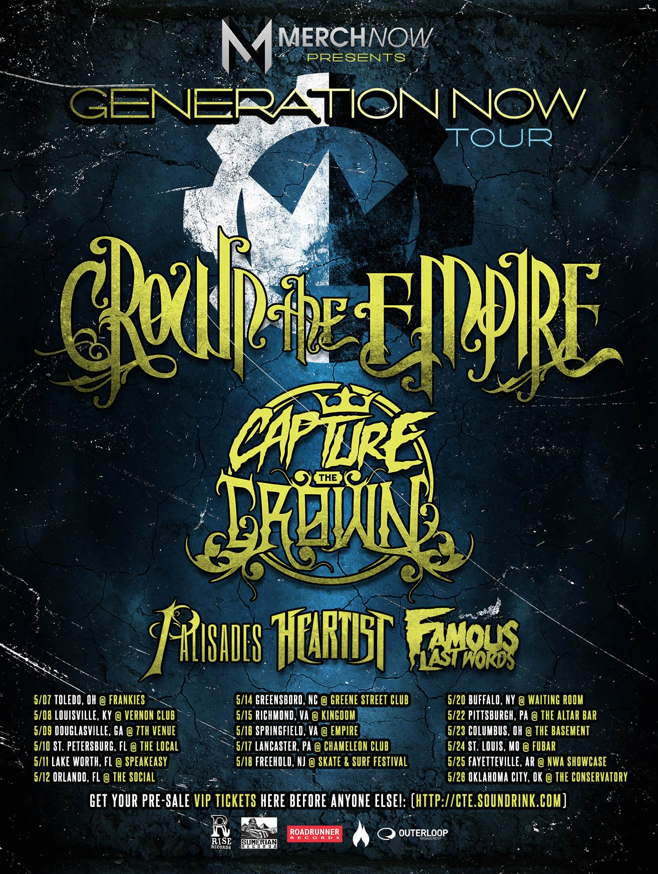 Crown The Empire Tour