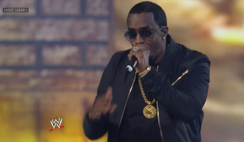 Diddy Wrestlemania 29