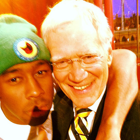 tyler the creator and david letterman