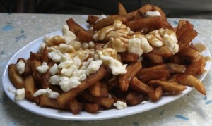 For the record, I think poutine is the most delicious way to get a heart attack.