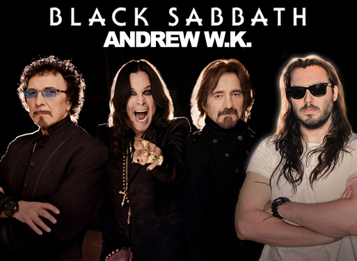 Black Sabbath Invite Andrew W.K. To Open Entire North American Tour