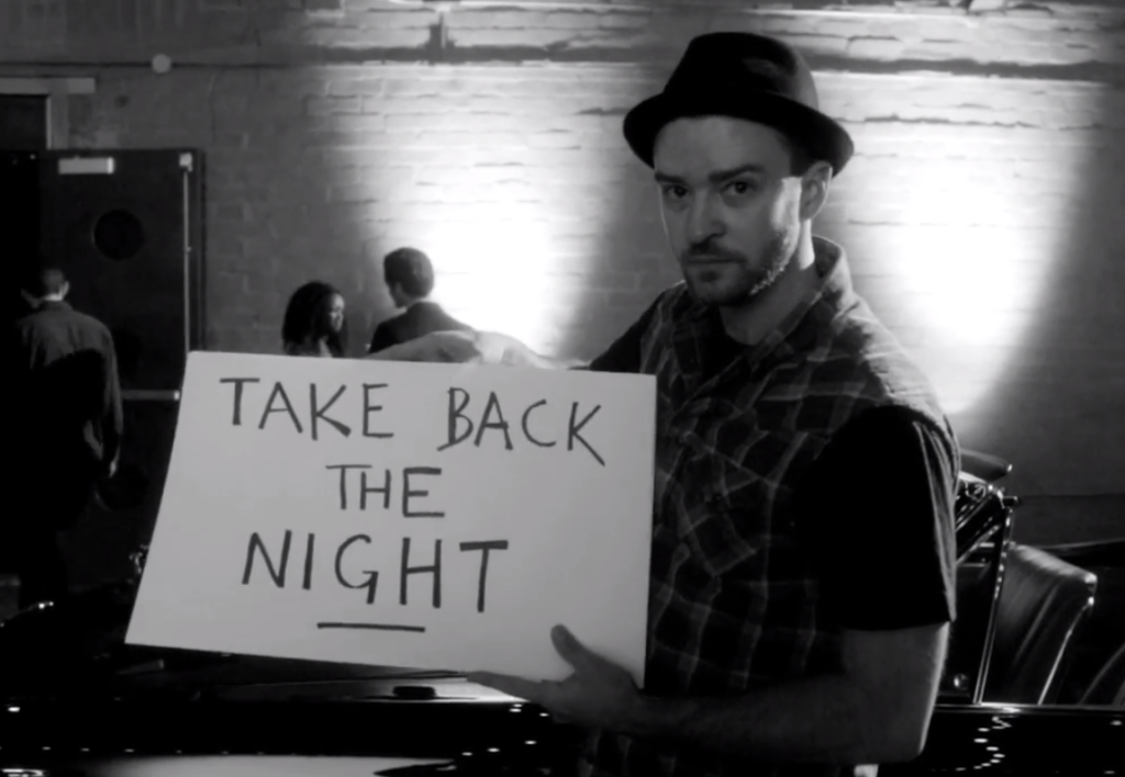 Justin Timberlake Take Back The Night