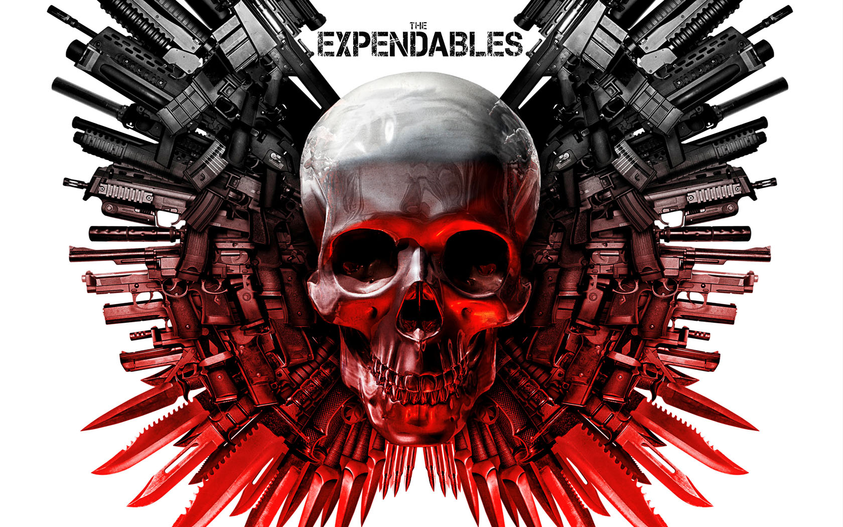 The_Expendables logo desktop wallpaper wallpapers gun action movie film poster