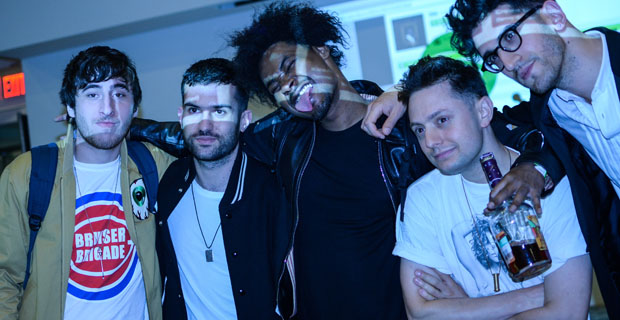 Danny Brown Spotify Party