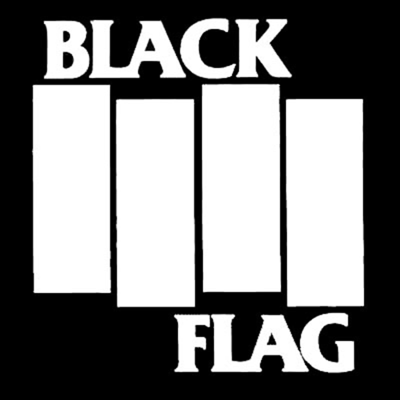 black flag reversed color