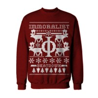 Immoralist Christmas Sweater