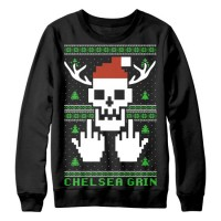 Chelsea Grin Christmas Sweater