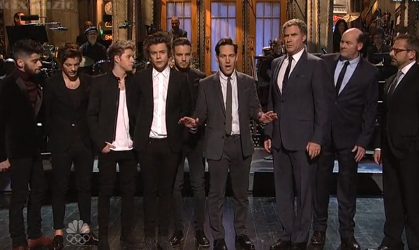 One Direction and Anchorman 2 SNL