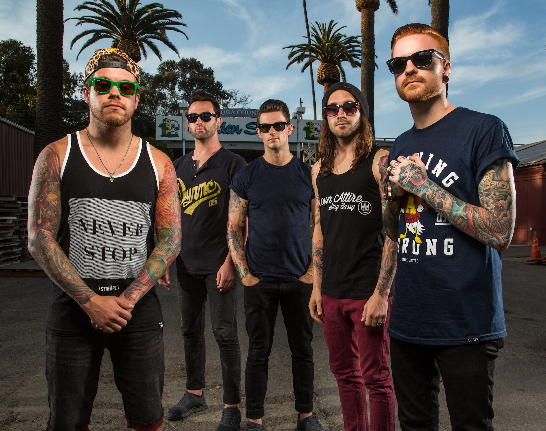 Memphis May Fire Promo 2013