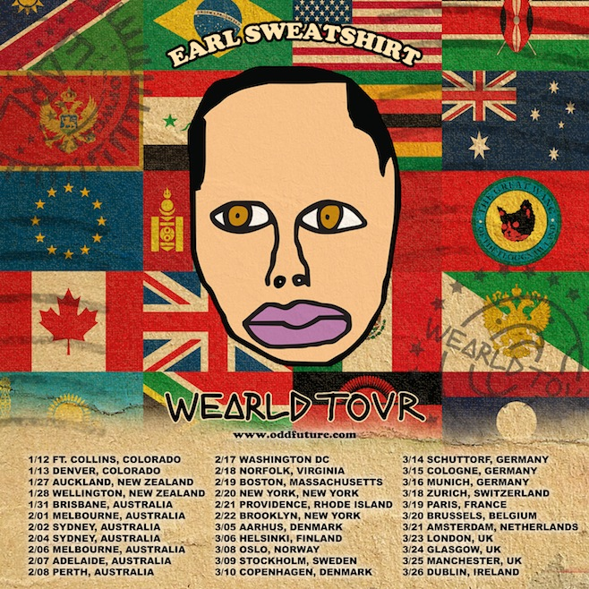 WEARLD TOUR EArl Sweatshirt