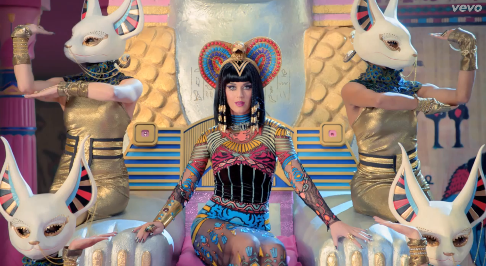 katy perry dark horse music video