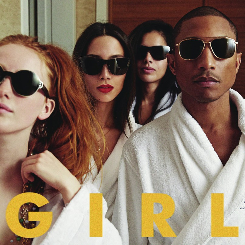 Pharrell Williams G I R L girl
