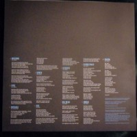 Album Sleeve Back / Lyrics