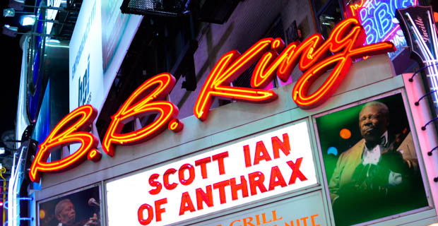 Scott Ian at BB Kings