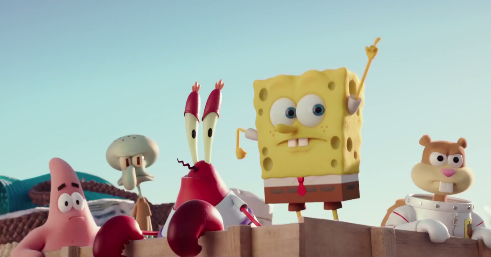 The Spongebob Squarepants Movie Sponge Of Out Water