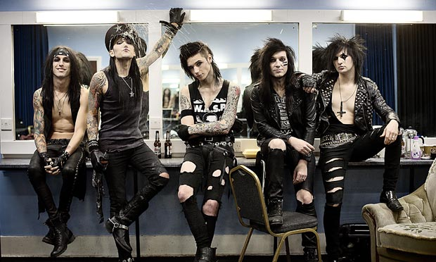 Black Veil Brides … 'We want people to know they shouldn't feel like social pariahs.'