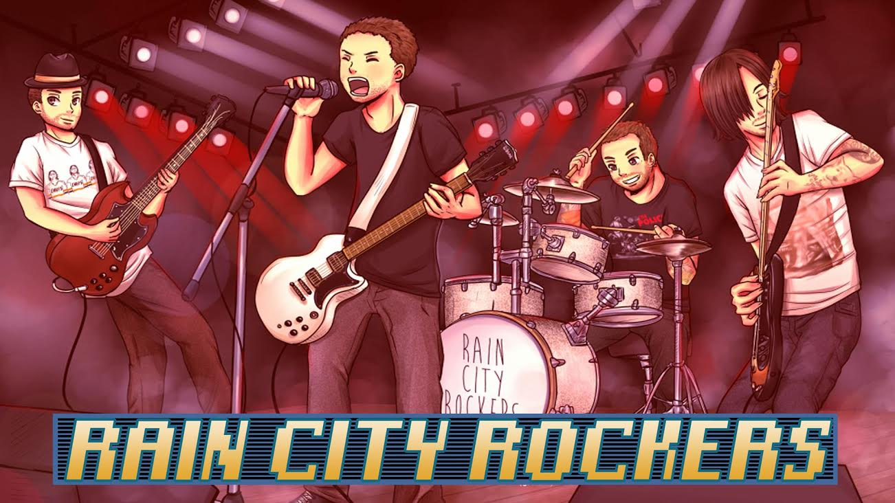 rain city rockers cover song digimon