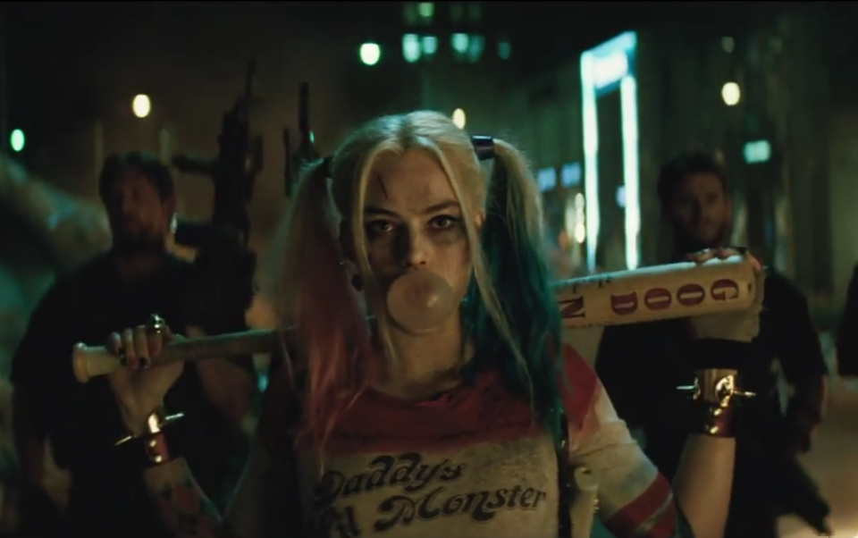 harley quinn suicide squad trailer 1